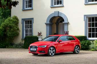New A3. Audi says complete body redesign retains recognisable A3 profile. No kidding.