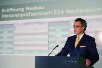 Wolfgang Durheimer, member of the board of management for technical development, Audi AG