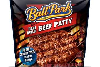 The launch marks the extension of Sara Lees Ball Park brand into the frozen food aisle