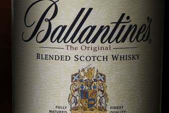 The new look for Ballantines