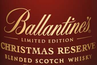 Click through to view Pernod Ricards Ballantine's Christmas Reserve