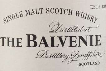 Click through to view William Grant & Sons The Balvenie Triple Cask range