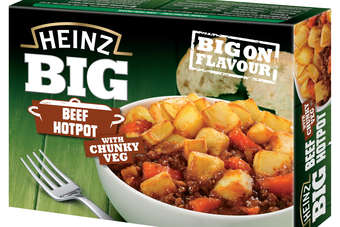 The Heinz ready meals are available in four variants