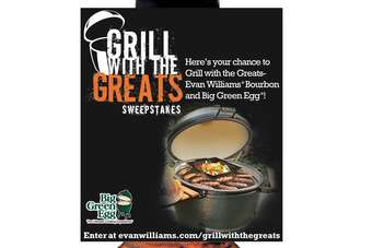 Click through to view the Evan Williams cooking neck-tag