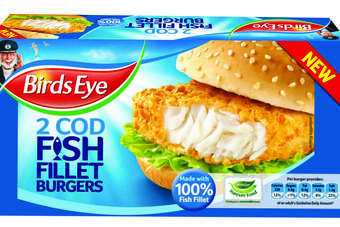 "Made with ""100% flaky fish fillets"", the range will be available in Cod and Omega 3"