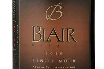 Click through to view Blair Estates 2010 Pinot Noir