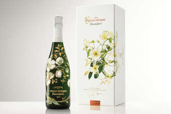 The limited edition Perrier-Jouet Belle Epoque was unveiled in Tokyo
