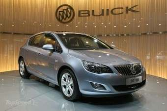 Astra-based Buick Excelle XT made its debut at the 2009 Guangzhou show