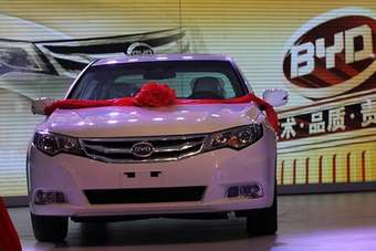 BYD has issued a media release about the car but oddly, no exterior shots. This image is courtesy of LeBlogAuto.com
