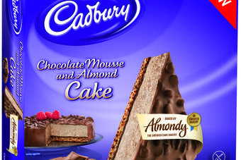 Almondy has teamed up with Mondelez for another set of frozen cakes