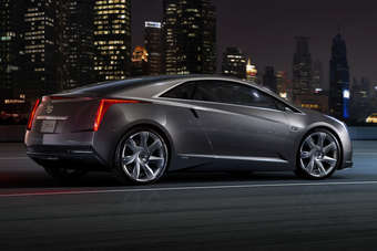 The Cadillac Converj concept previewed the future ELR