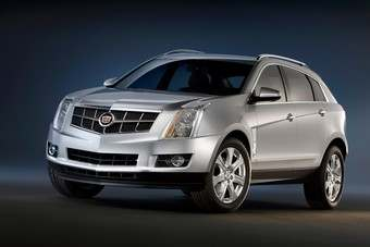 Cadillac revealed SRX crossover in 2008