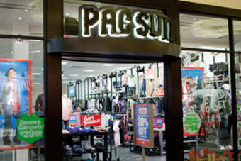Pacific Sunwear of California reported a 0.7% increase in third-quarter sales