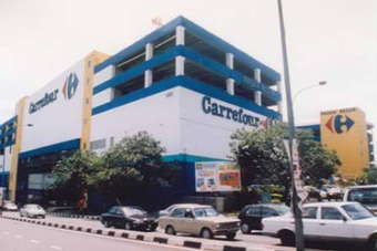 Carrefour operates 26 stores in Malaysia