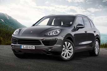 According to Porsche, this is the world's only SUV to be powered by a diesel V8 with automatic start/stop