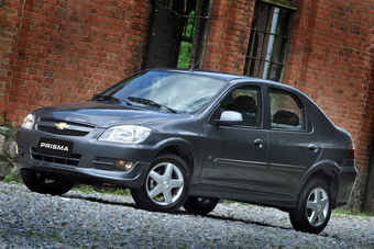 Prism has early 90s Corsa origins; variants have also been sold in Brazil, China and India