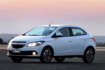 Chevrolet Onix replaces Celta