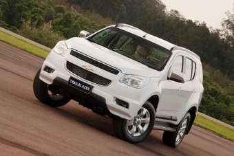 Chevy Trailblazer was developed in Brazil but built first in Thailand