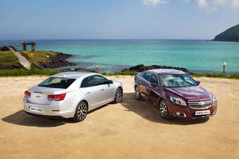 Chevrolet Malibu was the top selling American badged car in June, behind only the Toyota Camry