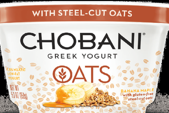 Chobanis latest launch includes an oatmeal product