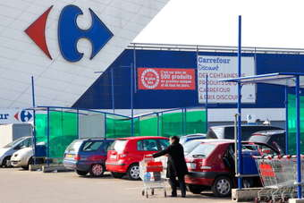 Carrefour sounds confident note on FY sales performance