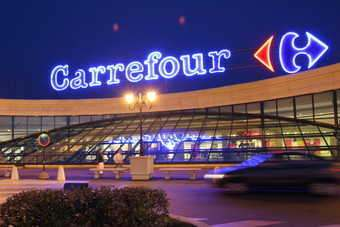 Carrefours shares rose in early trading in Paris