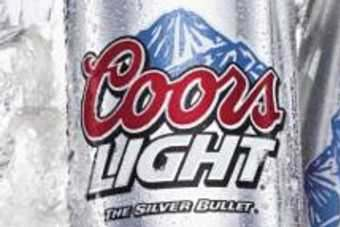 Chinese thirsty for Coors Light