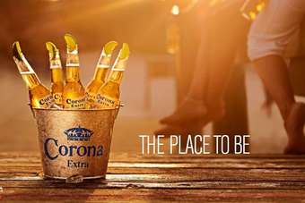 Corona Extra will feature on billboards across the UK