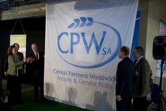 Cereal Partners Worldwide, a joint venture between General Mills and Nestle, has opened its R&D centre in Switzerland