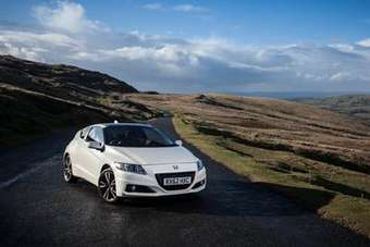 As well as a subtle styling update, the CR-Z gained lithium ion batteries at the time of its first facelift