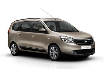 The Lodgy had its world premiere at the recent Geneva motor show