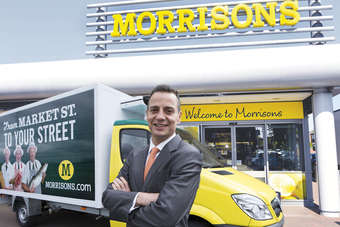 Morrisons CEO Philips announced near-6% fall in like-for-like sales over Christmas and New Year