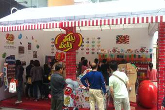 Jelly Belly uses pop-up stores to introduce product to Chinese consumers