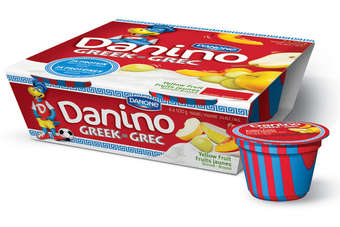 Danones Danino Greek is specifically made for kids
