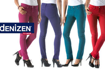 The jeans range is designed to flatter a womans figure