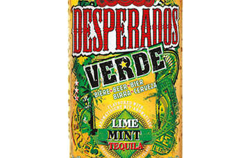 Desperados Verde was first launched in France two years ago