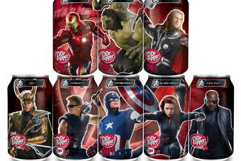 Dr Pepper has joined forces with The Avengers