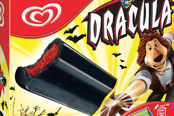 Unilever brings back 1980s Dracula lolly