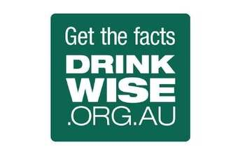Heres one of the DrinkWise labels for Australia - click through to see the other four