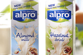 Alpro eyes wider distribution of plant-based dairy alternatives