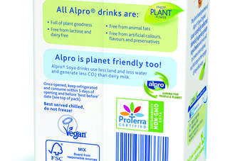 Uk Whitewave S Alpro Introduces Non Gm Labelling Mark Food