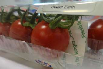 Its Fresh! claims ethylene-absorbing packaging extends the shelf-life of products such as tomatoes