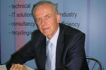 Bertram Rollmann, vice-president of the Bulgarian textile and apparel association