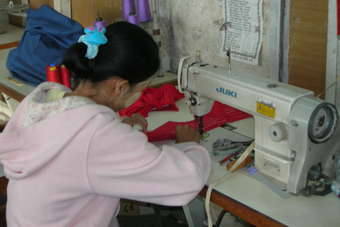 Burma is benefiting from new garment export orders from Europe