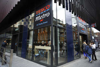 Tesco confirms year of falling profits
