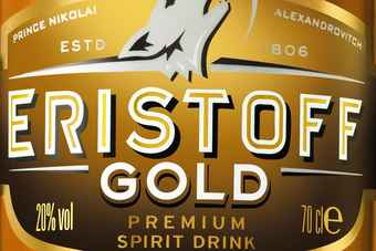 Click to view Bacardi's Eristoff Gold