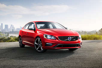 The Volvo S60: manufactured at VCCs Ghent plant in Belgium and recently given a mid-life facelift