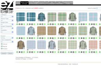 Us Eztextiles Launches Online Textile Design Library Apparel Industry News Just Style