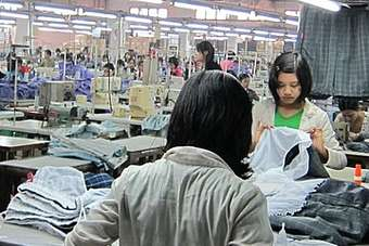 Myanmars garment export industry has potential, but not yet