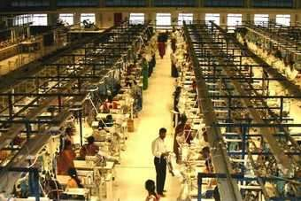 The US government is concerned about the possibility of child labour in Indias garment firms